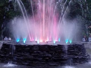 Duszniki-Zdrój Atrakcja Warto zobaczyć Kolorowa Fontanna